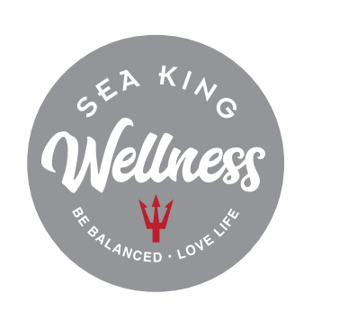 Sea King Wellness Program logo - Be Balanced - Love Life