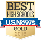 U.S. News - Best US High Schools - Gold 2015